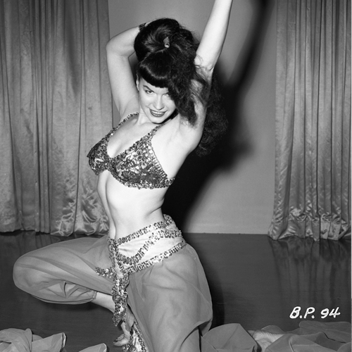 Bettie Page Photo Archives of Irving Klaw